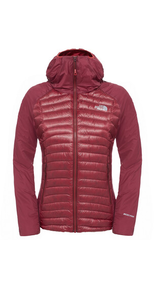 The North Face W's Verto Prima Hoodie Deep Garnet Red
